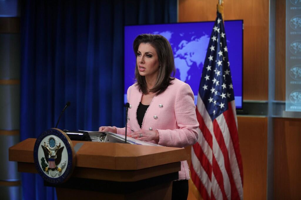 مورگان اورتگاس، سخنگوی وزارت امور خارجه ایالات متحد آمریکا