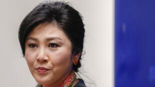 Cựu thủ tướng Thái, Yingluck Shinawatra.