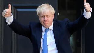 Sabon Fira Ministan kasar Birtaniya Boris Johnson.