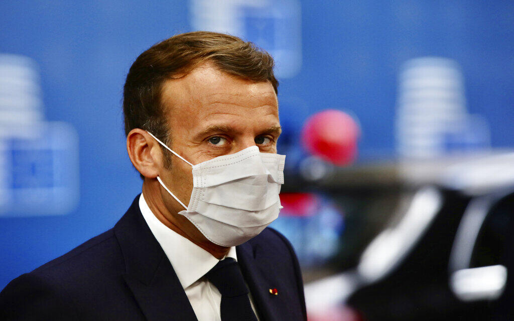 Presidente francês, Macron anuncia subsídios para pessoas frágeis, idosos e enfermeiras