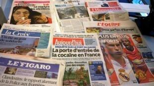 Diários franceses 05/08/2014