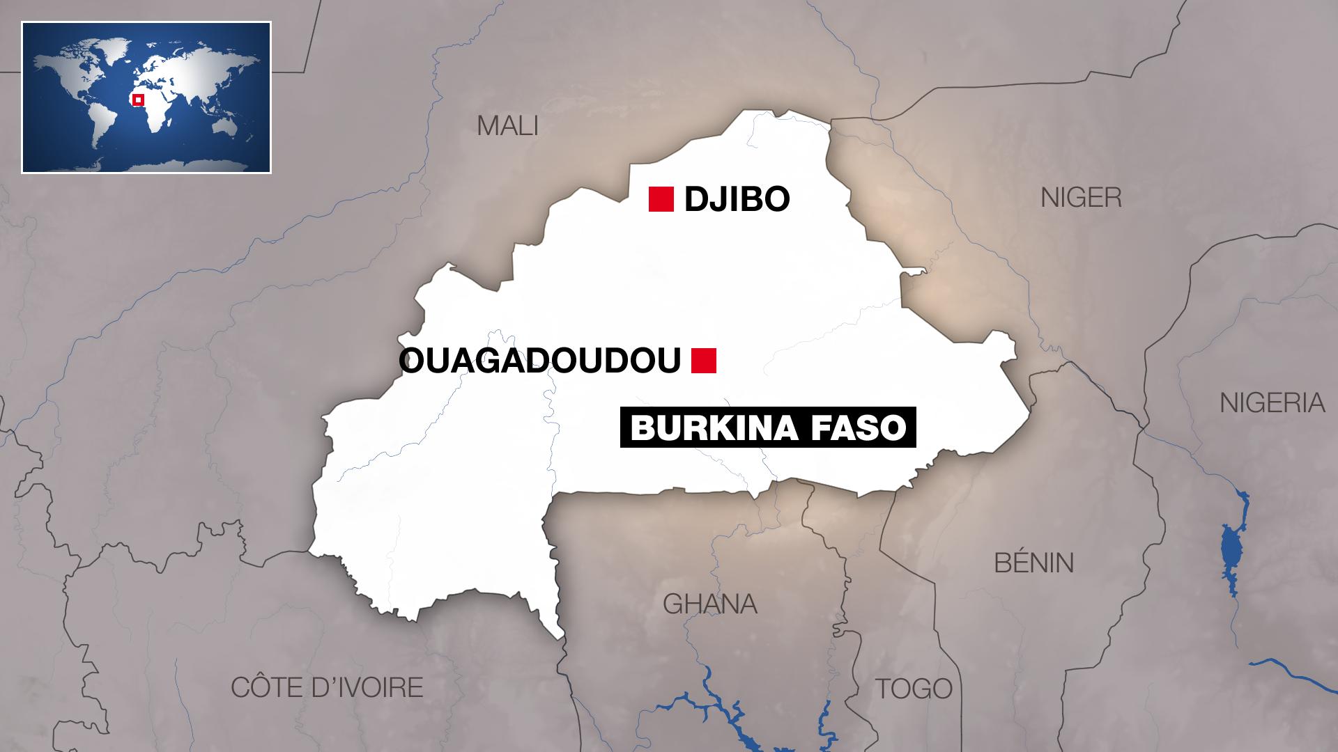 La ville de Djibo au Burkina Faso.