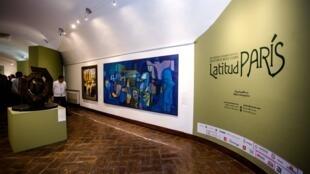 Exposición 'Arte moderno latinoamericano: Latitud París' en el Museo Histórico Fuerte de San Diego.