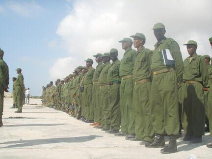 Troupes somaliennes (illustration).