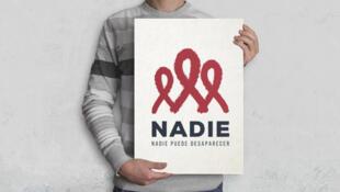 """La campaña """"Nadie"""" denuncia la falta de financiación en la lucha contra el VIH y el sida."""