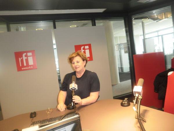 Hélène Henry, présidente de l'association AFS vivre sans frontière.