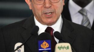 Ramtane Lamamra, commissaire à la paix et à la sécurité de l'Union africaine.