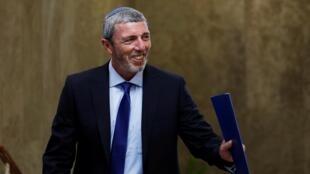 Rafi Peretz, el pasado 14 de julio tras el Consejo de Ministros del gobierno israelí