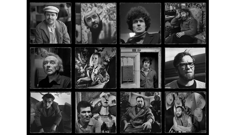 Les peintres non-conformistes exposés à la Nouvelle Tretiakov de Moscou, à l'occasion de l'exposition «Free Flight».