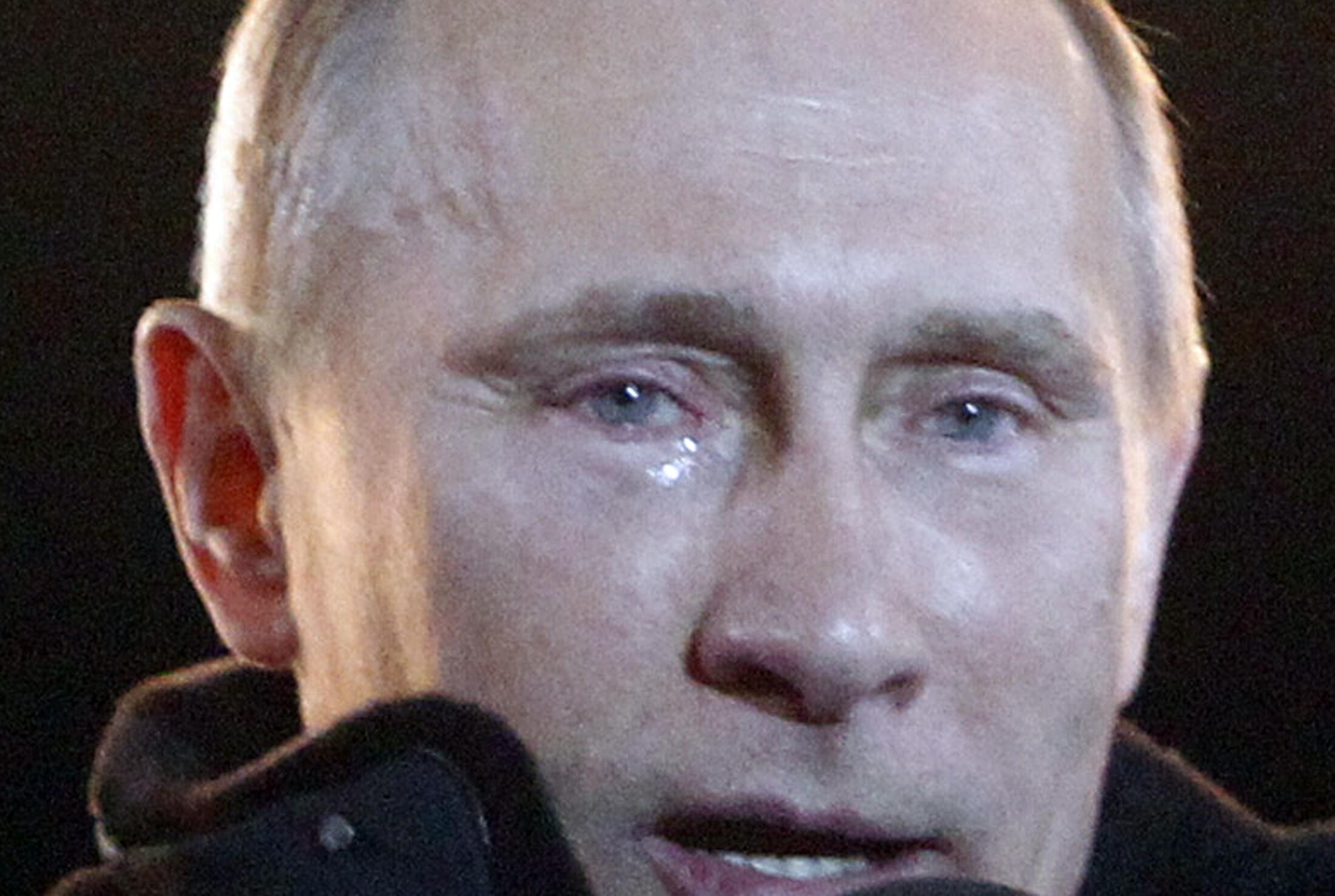 Владимир Путин 4 марта 2012.