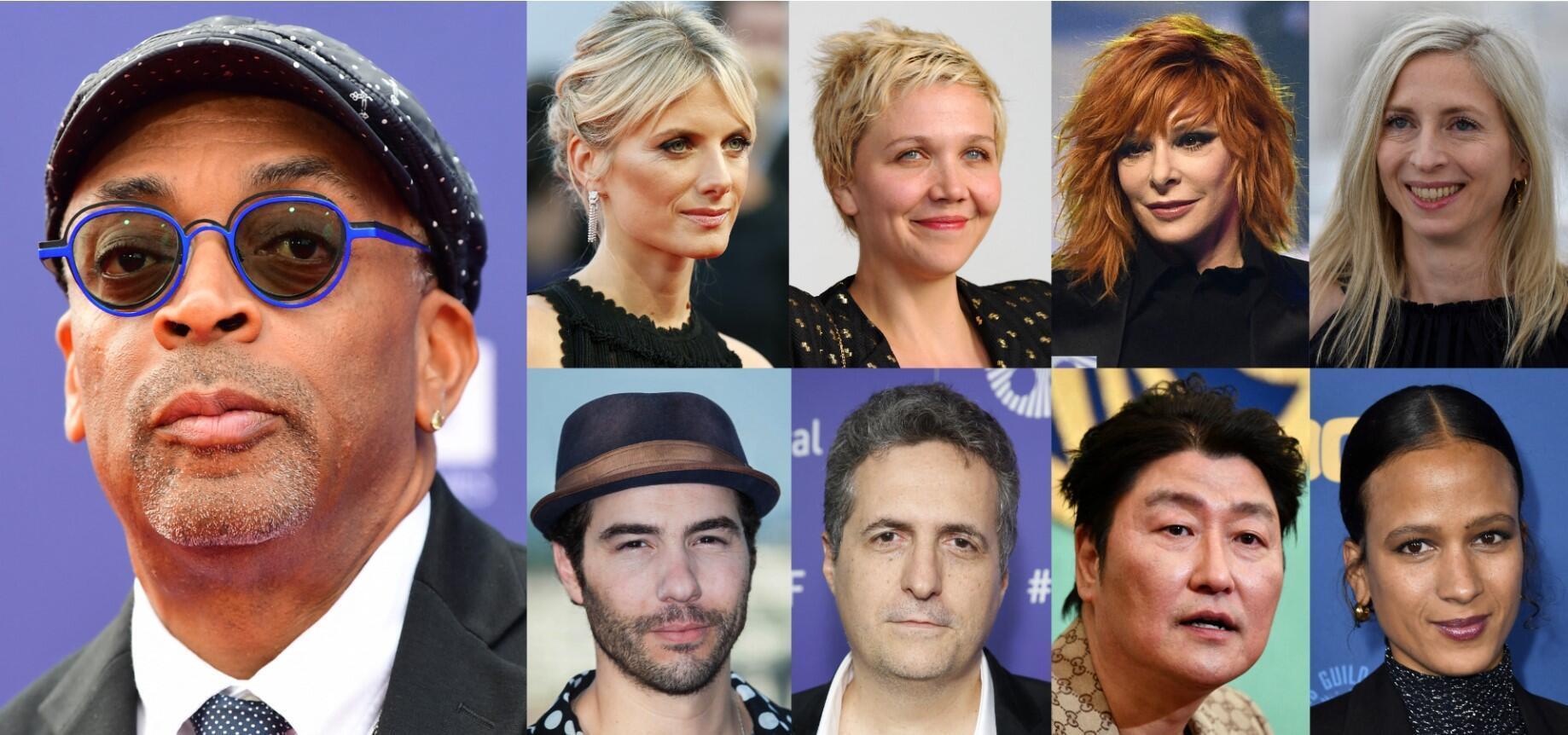 Le jury du Festival de Cannes 2021.  © A.-C. POUJOULAT, Y. BONNET, K. NOGI, C. SIMON, C. TRIBALLEAU, I. SAVENOK, J. BROWN, J. LAMPARSKI, F. HARRISON / AFP