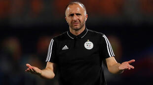 """Late subs worked for Giresse. Why not me?"" Algeria coach Djamel Belmadi is trying to take the country to its first Cup of Nations title since 1990."