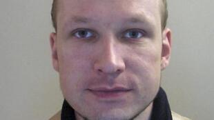 O atirador norueguês Anders Behring Breivik.
