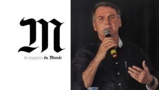 A política ambiental de Jair Bolsonaro é destaque na revista semanal do Le Monde.