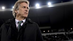 Jorge Jesus, treinador do Sporting CP.