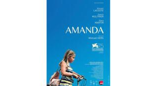 L'affiche du film «Amanda» de Mikhaël Hers.