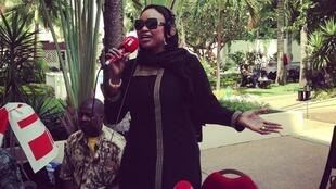 Oumou Sangaré en live (Abidjan - avril 2013).