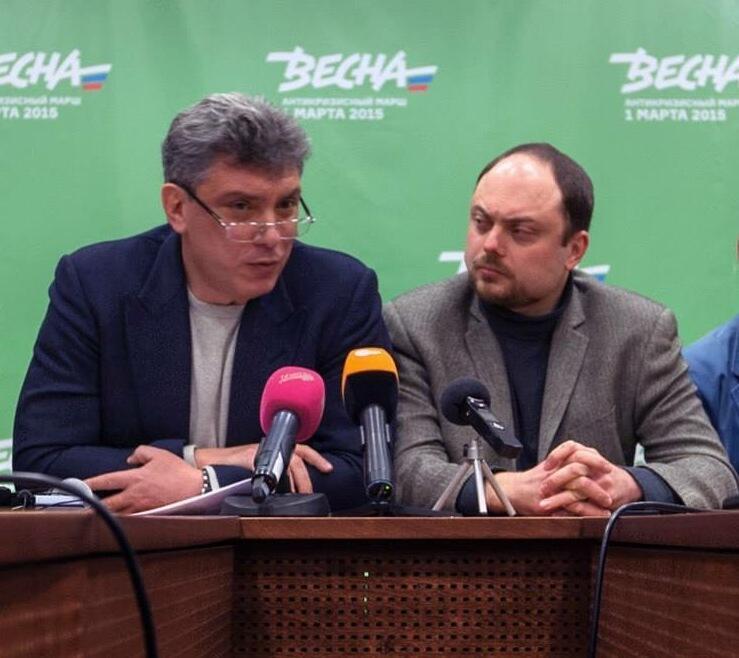 Борис Немцов и Владимир Кара-Мурза