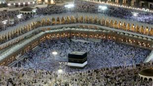 Muçulmanos do mundo inteiro começaram hoje a peregrinação anual a Meca, Arábia saudita