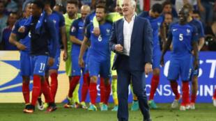 Huấn luyện viên Didier Deschamps, sau trận bán kết Pháp-Đức, Marseille, 07/07/2016