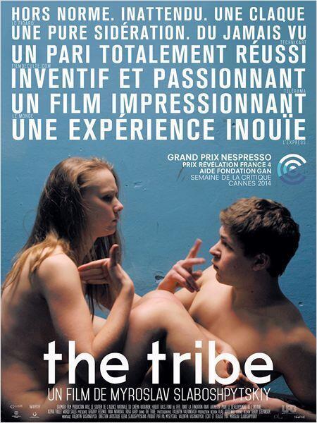 Áp phích giới thiệu phim The Tribe