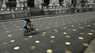 AP2101542254247 enfants Philippines Manille