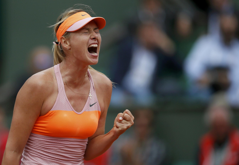 Maria Sharapova a gasar Roland Garros