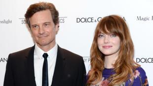 Colin Firth et Emma Stone sont les deux principaux protagonistes du film «Magic In The Moonlight» de Woody Allen.