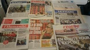 Diários franceses  25/08/2015