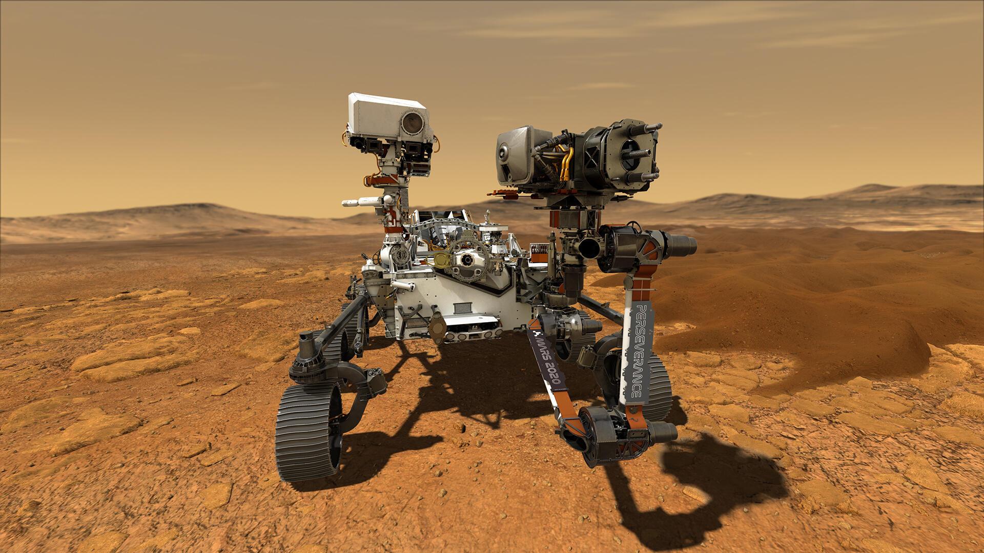 Le rover «Perseverance» de la Nasa doit atterrir sur la planète Mars dans une prochaine mission américaine en juillet 2020.
