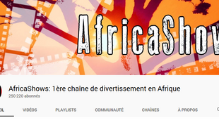 Capture d'écran de la chaine Youtube «AfricaShows».