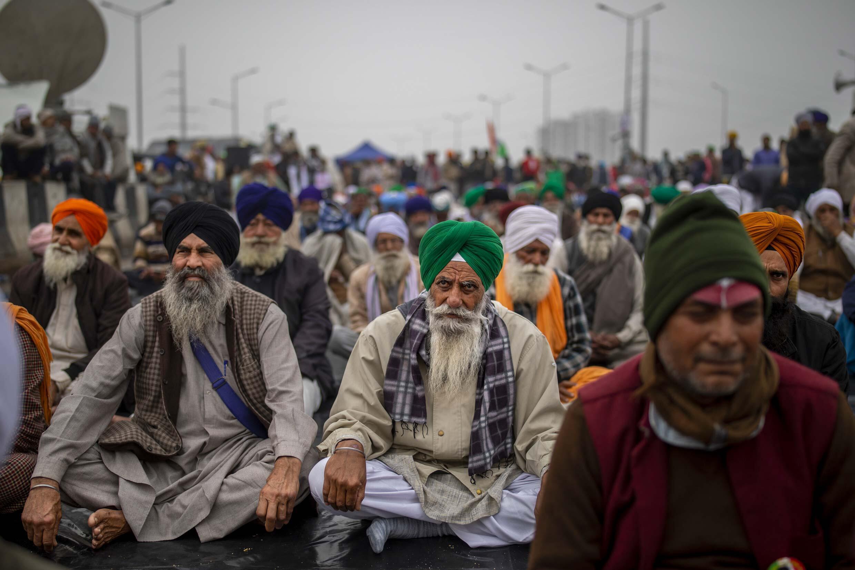2021-01-08 India delhi protests farmers agriculture blockade highway uttar pradesh