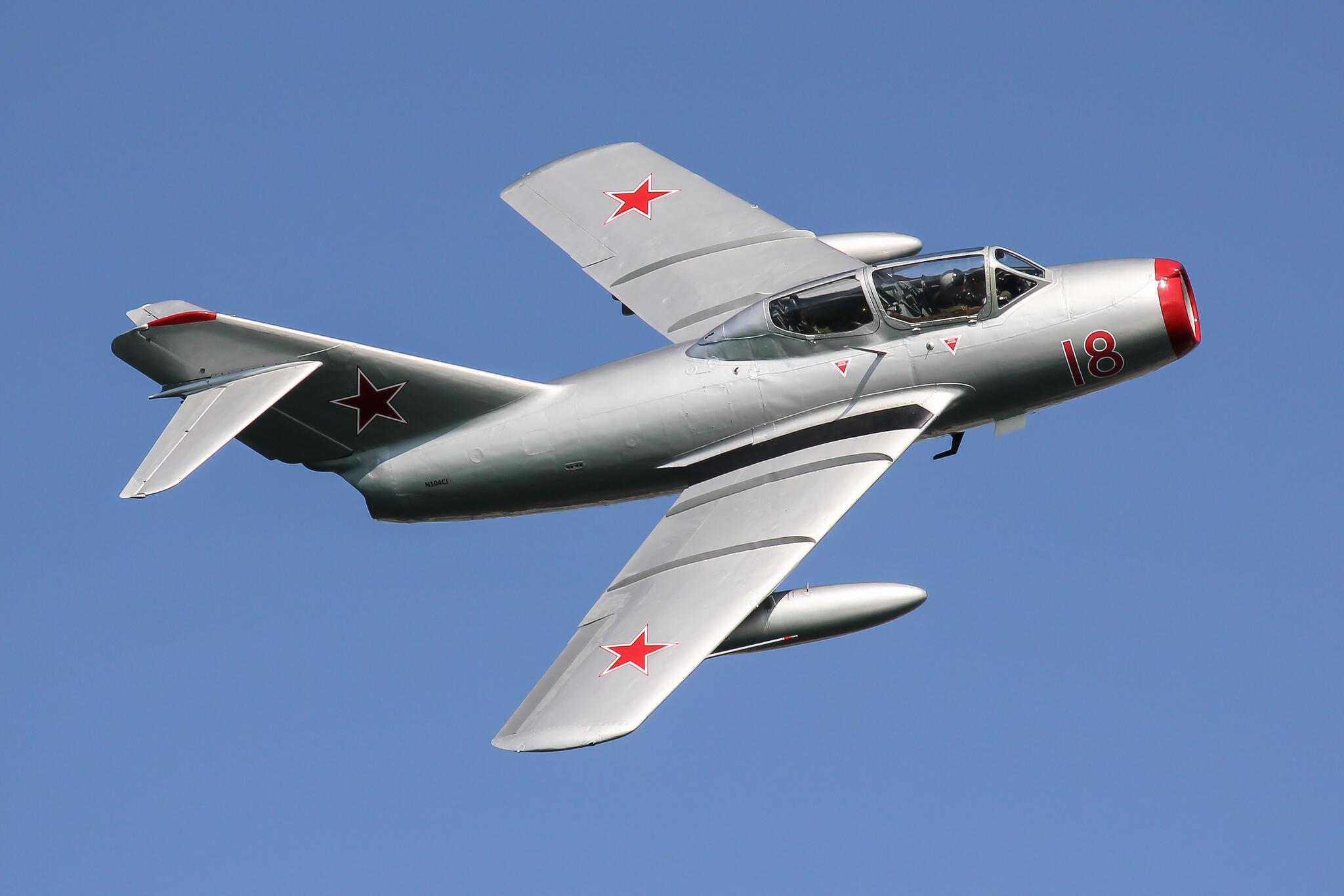 МиГ-15 был восстановлен норвежской ассоциацией авиалюбителей.
