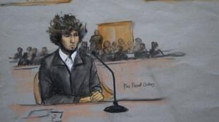 Os jurados foram unânimes ao considerar Djokhar Tsarnaev culpado pelo atentado na maratona de Boston.