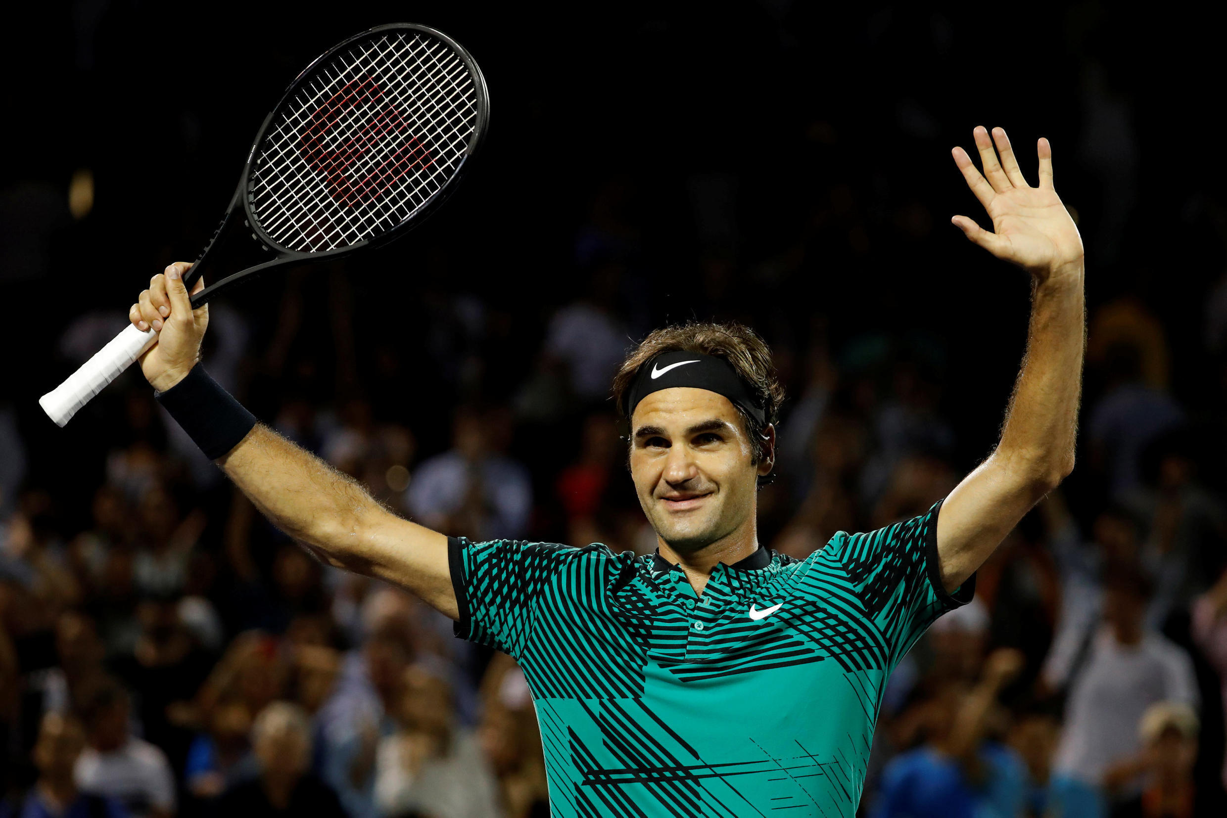Roger Federer has lost only one match in 2017.