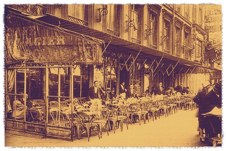 Uno de los lugares que frecuentó Rubén Darío en París fue el 'Café Le Napolitain' en el 1, bulevar des Capucines, 75002 Paris.