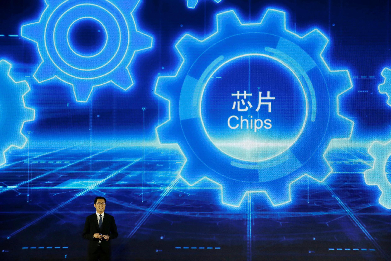 Chủ tịch tập đoàn Đằng Tấn (Tencent), ông Mã Hóa Đằng (Pony Ma) phát biểu tại Hội nghị Internet Thế giới, Chiết Giang, Trung Quốc, ngày 07/11/2018.