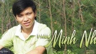 Anh Trần Minh Nhật (ảnh: thanhnienconggiao.wordpress.com)
