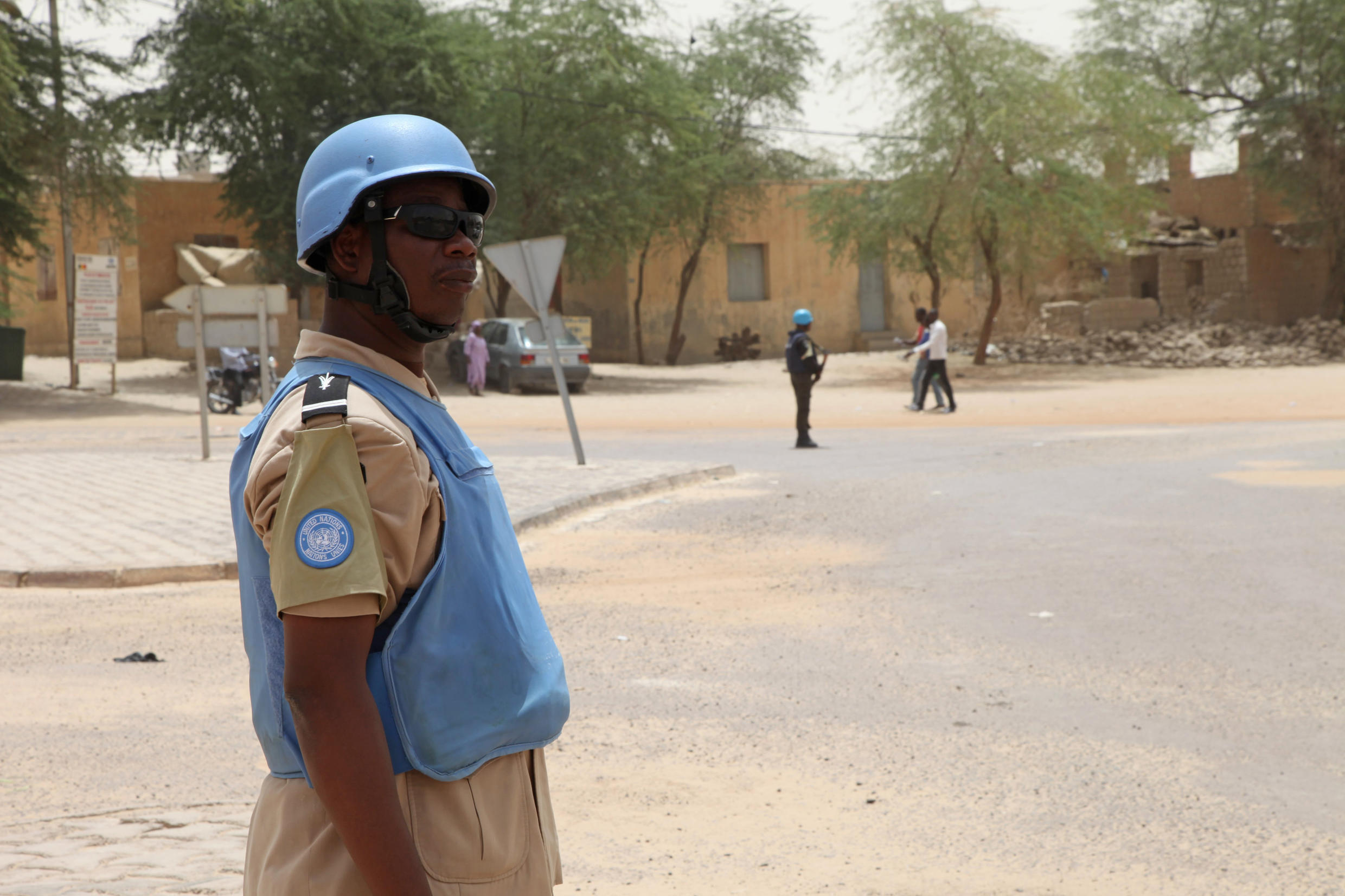 Minusma troops have also been targeted by Tuareg rebels in Timbuktu