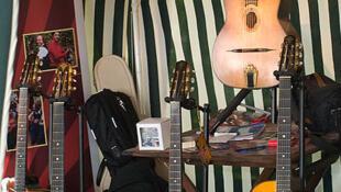 Selmer-Maccaferri and Selmer style guitars used in gipsy jazz