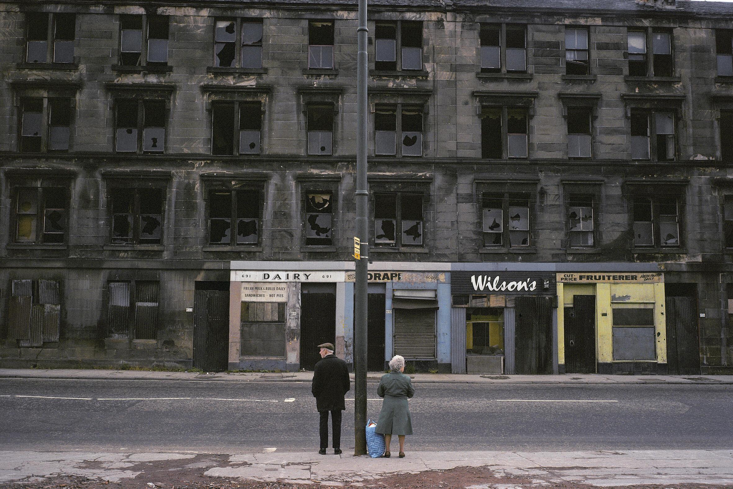 Glasgow, Escócia, 1980.