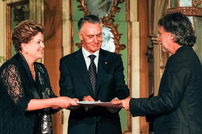 Presidenta Dilma Rousseff durante cerimônia de entrega do Prêmio Camões. (Lisboa - Portugal, 10/06/2013)