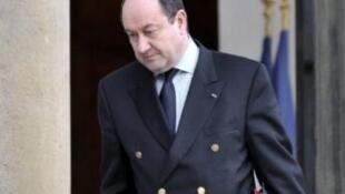 Bernard Squarcini, head of French spy DCRI.