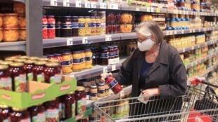 Dans un supermarché de Rhénanie-du-Nord-Westphalie, en Allemagne.