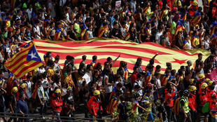 西班牙加泰罗尼亚2017年10月1日举行非法独立公投