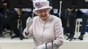 La reine Elizabeth II en juin 2014 à Paris.