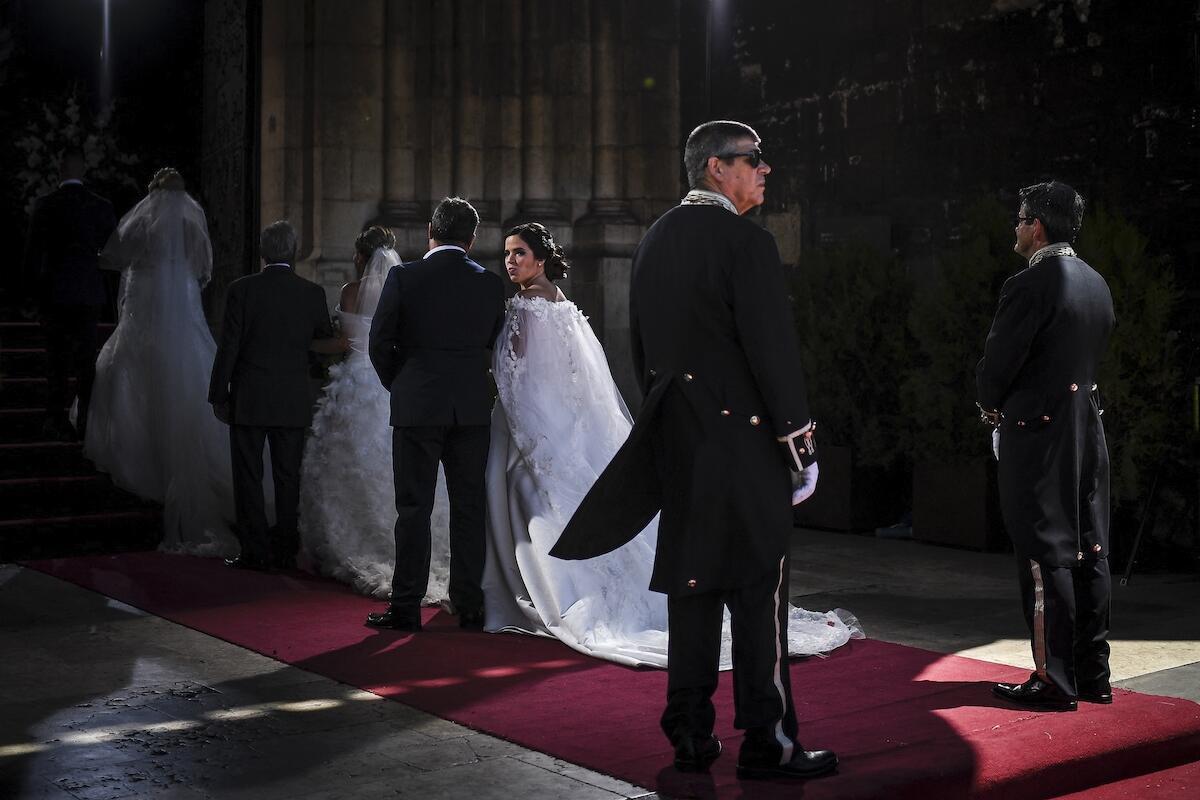 Celebração de casamentos em Lisboa, 12 de Junho de 2019.