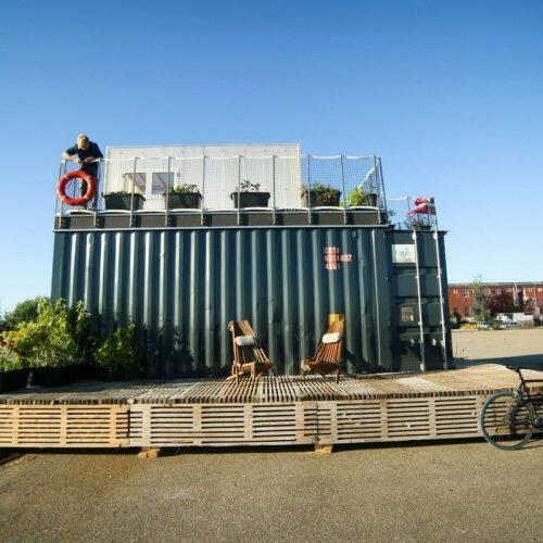 A empresa CPH Village propõe transformar contêiners em moradias na Dinamarca