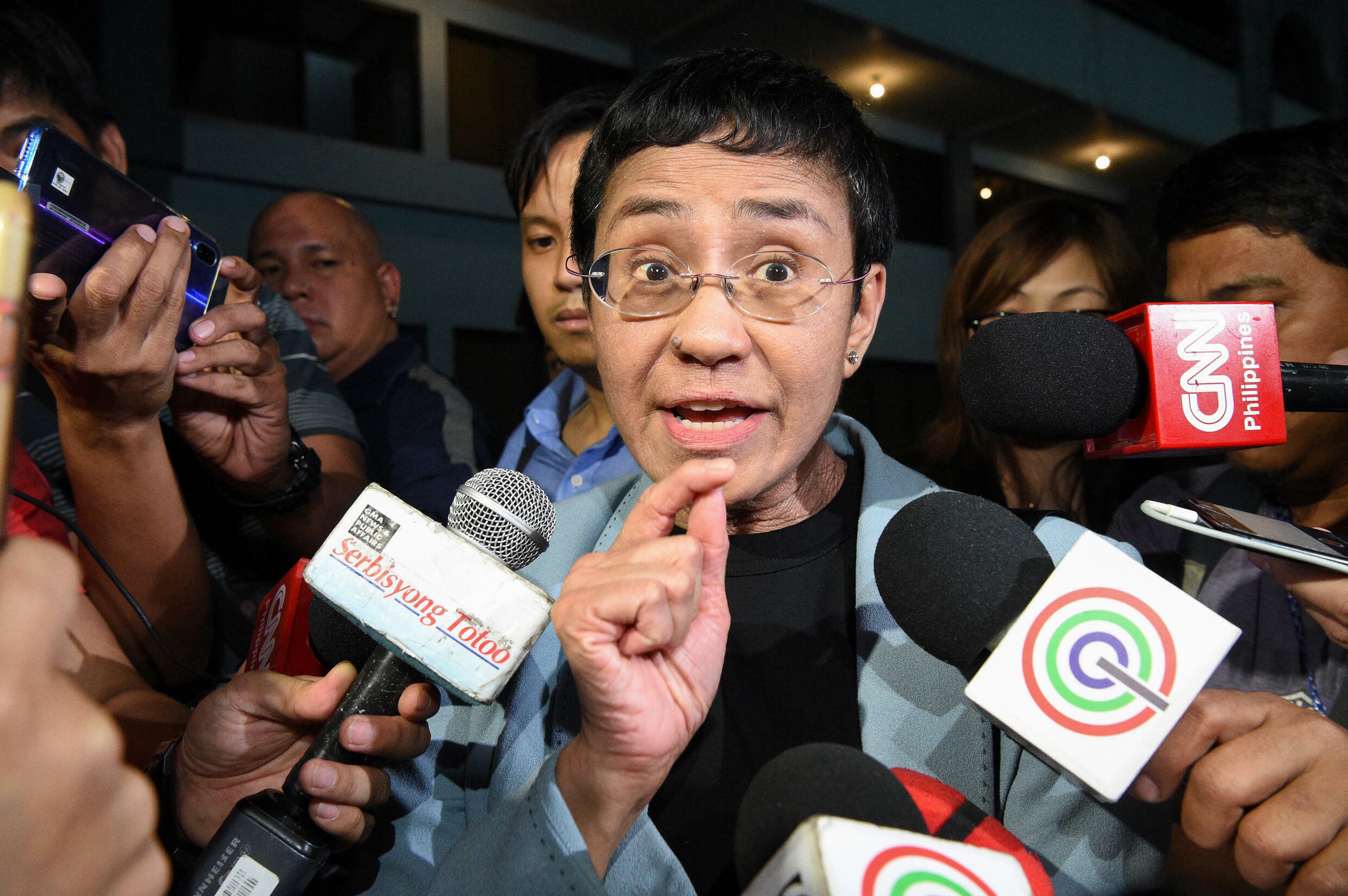 Maria Ressa has become a symbol of the fight for press freedom in an era of strongmen leaders
