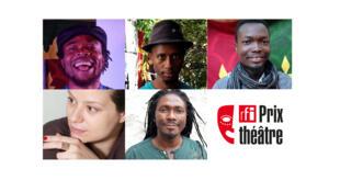 Prix RFI Théâtre 2020. Qui succèdera à Julien Mabiala Bissila, Hala Moughanie, Hakim Bah, Edouard Elvis Bvouma, Sedjro Giovanni Houansou et Valérie Cachard ?